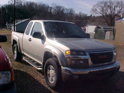 2005 GMC Canyon for sale at Bates Auto & Truck Center in Zanesville OH