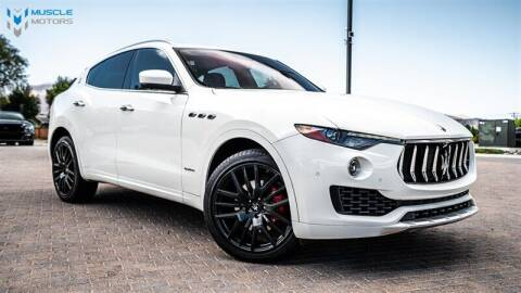 2018 Maserati Levante for sale at MUSCLE MOTORS AUTO SALES INC in Reno NV