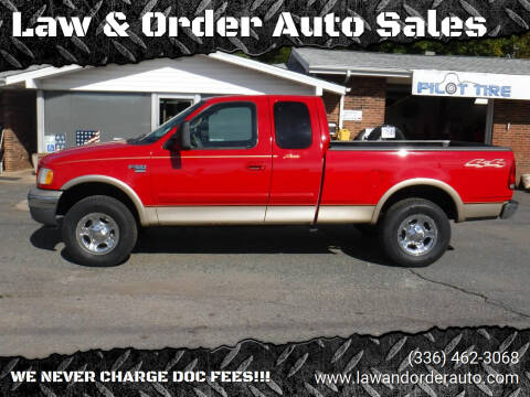 2000 Ford F-150 for sale at Law & Order Auto Sales in Pilot Mountain NC