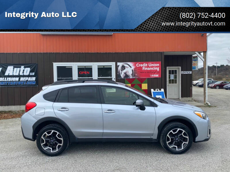 2016 Subaru Crosstrek for sale at Integrity Auto LLC - Integrity Auto 2.0 in St. Albans VT