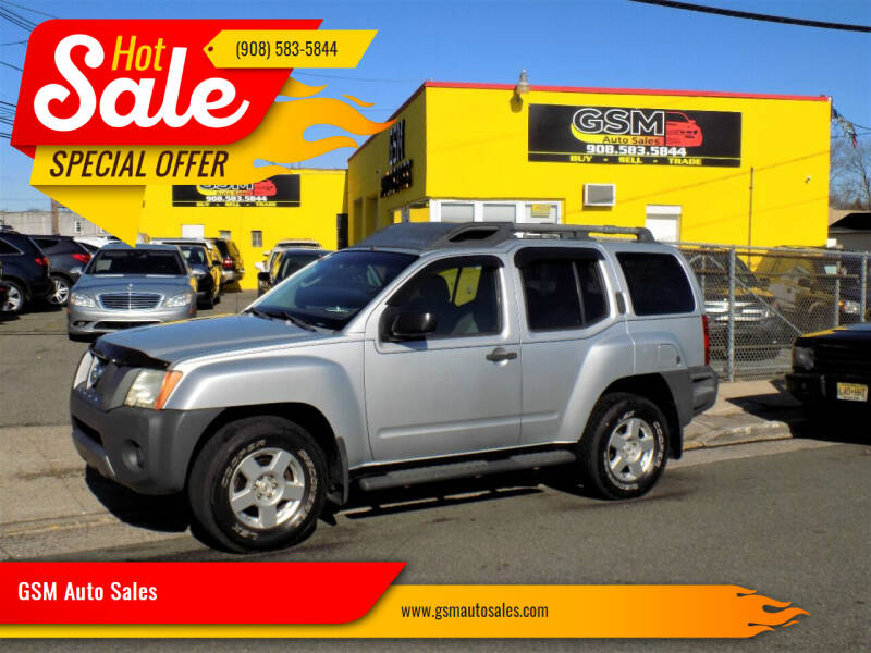 2008 Nissan Xterra for sale at GSM Auto Sales in Linden NJ