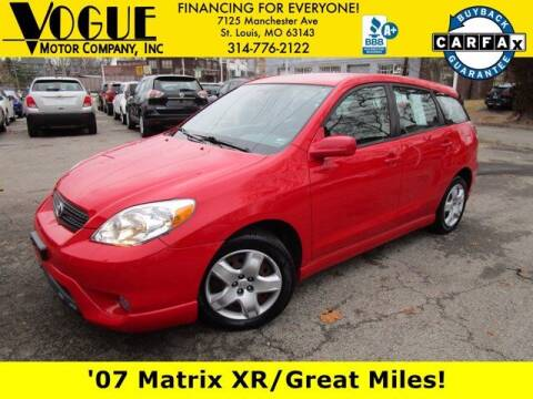 2007 Toyota Matrix for sale at Vogue Motor Company Inc in Saint Louis MO