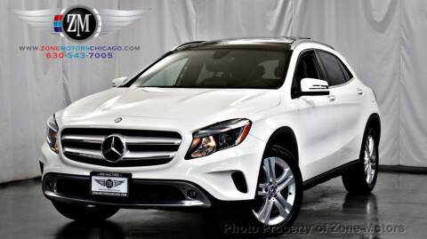 2016 Mercedes-Benz GLA for sale at ZONE MOTORS in Addison IL