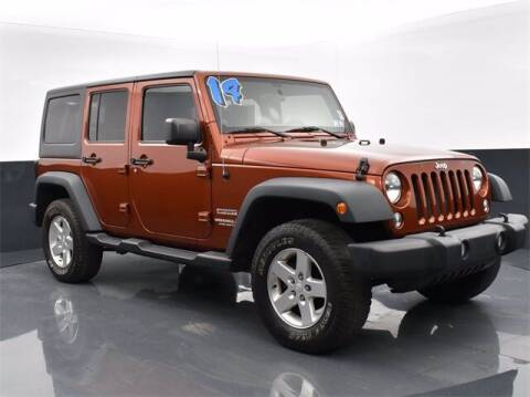 2014 Jeep Wrangler Unlimited for sale at Tim Short Auto Mall in Corbin KY