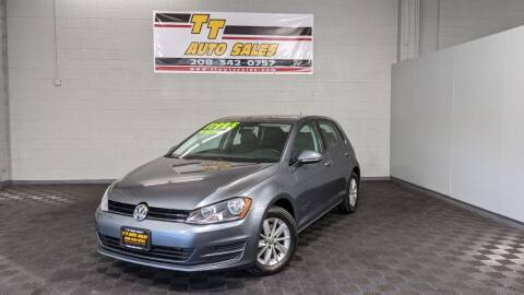 2015 Volkswagen Golf for sale at TT Auto Sales LLC. in Boise ID
