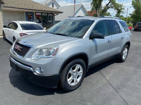 2012 GMC Acadia for sale at MARK CRIST MOTORSPORTS in Angola IN