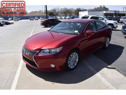 2015 Lexus ES 350 for sale at South Plains Autoplex by RANDY BUCHANAN in Lubbock TX