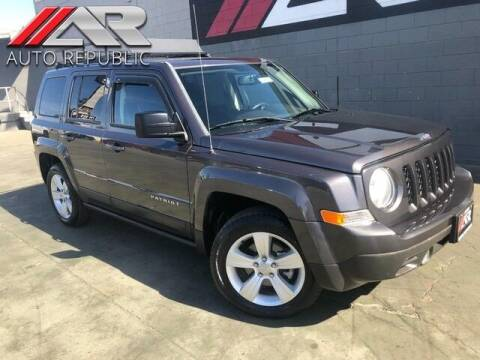 2016 Jeep Patriot for sale at Auto Republic Fullerton in Fullerton CA