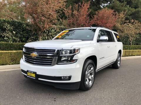 2015 Chevrolet Suburban for sale at Devine Auto Sales in Modesto CA