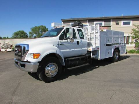 2011 Ford F-750 Super Duty for sale at NorthStar Truck Sales in Saint Cloud MN