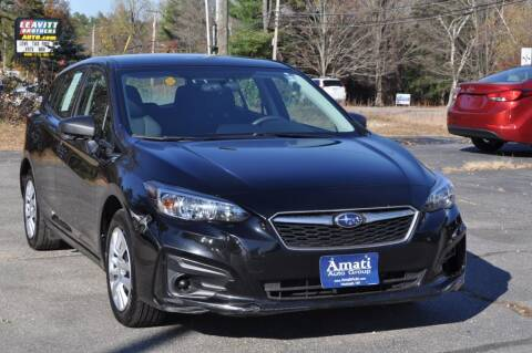 2017 Subaru Impreza for sale at Amati Auto Group in Hooksett NH