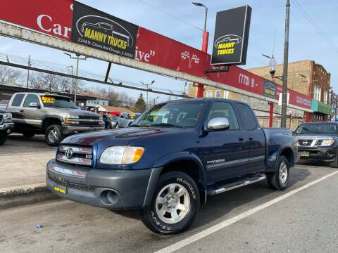 2004 Toyota Tundra for sale at Manny Trucks in Chicago IL