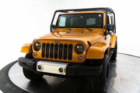 2014 Jeep Wrangler Unlimited for sale at AUTOMAXX MAIN in Orem UT