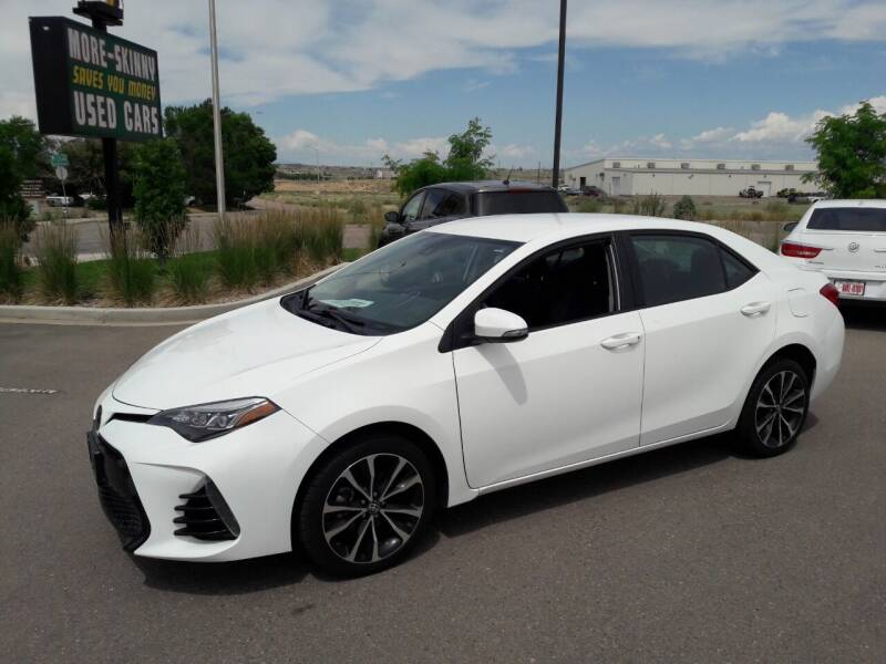 2017 Toyota Corolla for sale at More-Skinny Used Cars in Pueblo CO
