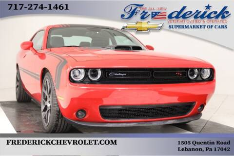 2016 Dodge Challenger for sale at Lancaster Pre-Owned in Lancaster PA
