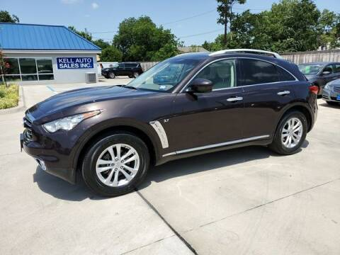2015 Infiniti QX70 for sale at Kell Auto Sales, Inc - Grace Street in Wichita Falls TX