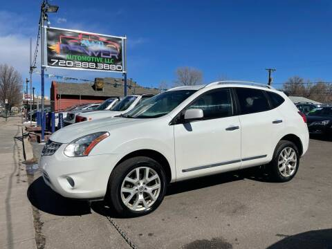 2012 Nissan Rogue for sale at AWD Denver Automotive LLC in Englewood CO