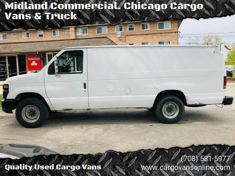 2013 Ford E-Series Cargo for sale at Midland Commercial. Chicago Cargo Vans & Truck in Bridgeview IL
