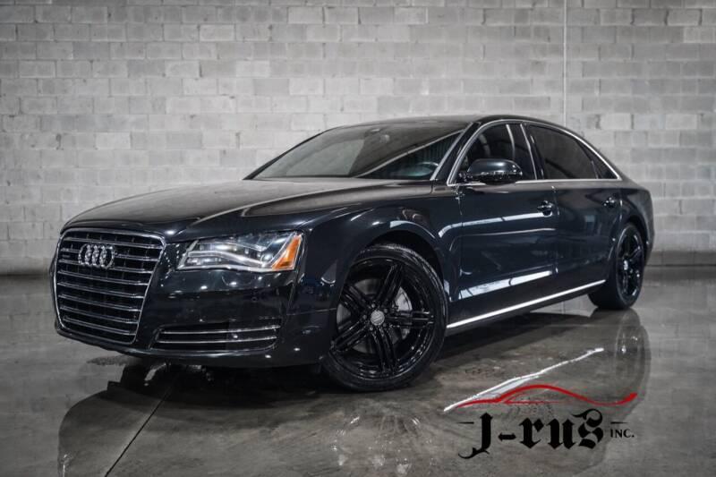 2013 Audi A8 L for sale at J-Rus Inc. in Macomb MI