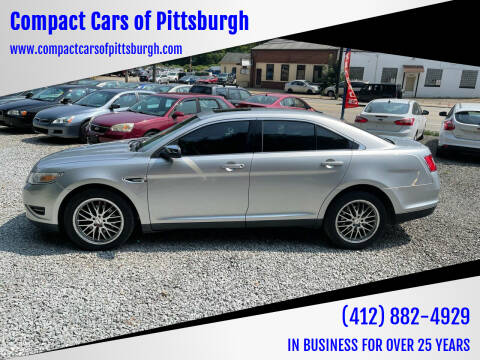 2010 Ford Taurus for sale at Compact Cars of Pittsburgh in Pittsburgh PA