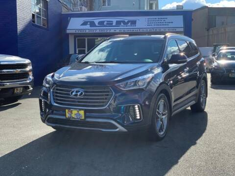 2017 Hyundai Santa Fe for sale at AGM AUTO SALES in Malden MA