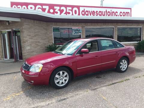 2006 Ford Five Hundred for sale at Dave's Auto Sales & Service in Weyauwega WI