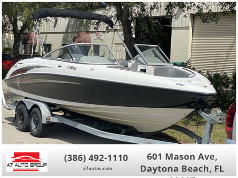 2005 Yamaha SX 230 HO (320hp) for sale at A7 AUTO SALES in Daytona Beach FL