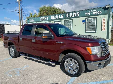 2010 Ford F-150 for sale at Best Deals Cars Inc in Fort Myers FL