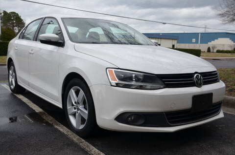 2012 Volkswagen Jetta for sale at Wheel Deal Auto Sales LLC in Norfolk VA