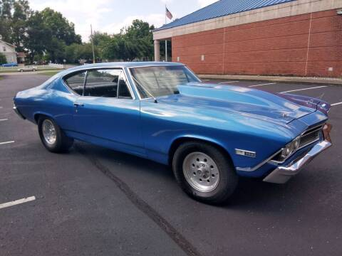 1968 Chevrolet Chevelle for sale at Eddie's Auto Sales in Jeffersonville IN