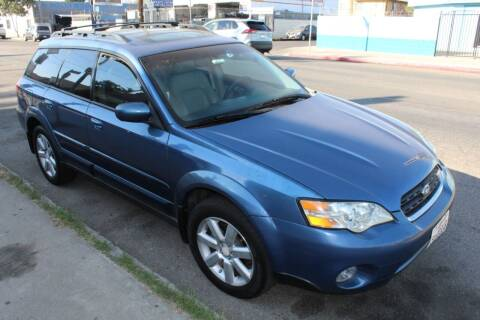 2007 Subaru Outback for sale at Good Vibes Auto Sales in North Hollywood CA