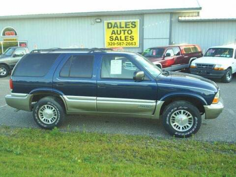 1999 GMC Jimmy for sale at Dales Auto Sales in Hutchinson MN