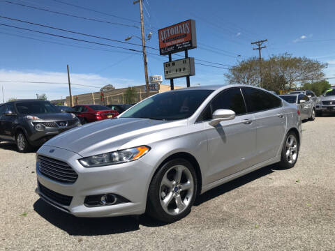 2015 Ford Fusion for sale at Autohaus of Greensboro in Greensboro NC