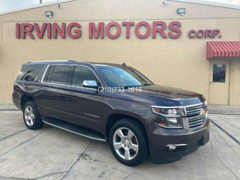 2015 Chevrolet Suburban for sale at Irving Motors Corp in San Antonio TX