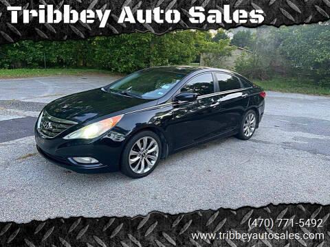 2011 Hyundai Sonata for sale at Tribbey Auto Sales in Stockbridge GA