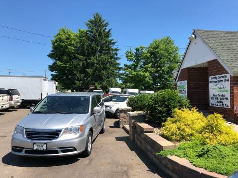 2012 Chrysler Town and Country for sale at Direct Sales & Leasing in Youngstown OH