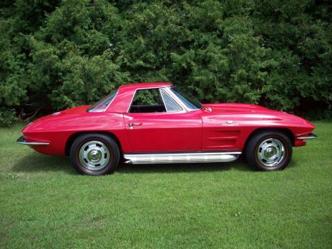 1963 Chevrolet Corvette for sale at S & S CLASSIC MOTORSPORTS INC in Ellendale MN