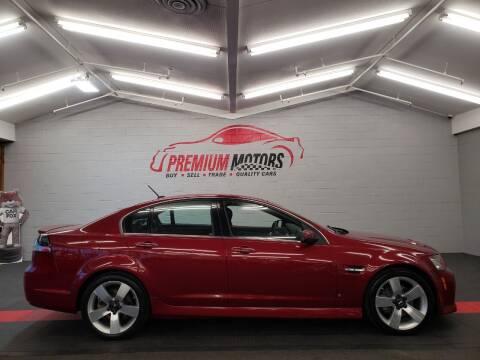 2009 Pontiac G8 for sale at Premium Motors in Villa Park IL