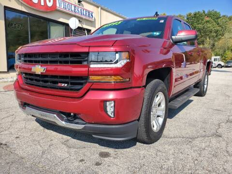 2018 Chevrolet Silverado 1500 for sale at Auto Wholesalers Of Hooksett in Hooksett NH
