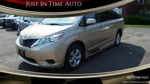 2013 Toyota Sienna for sale at Just In Time Auto in Endicott NY