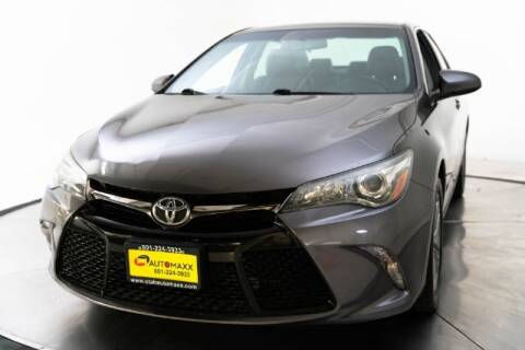 2017 Toyota Camry for sale at AUTOMAXX MAIN in Orem UT