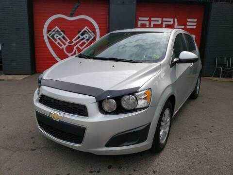 2015 Chevrolet Sonic for sale at Apple Auto Sales Inc in Camillus NY