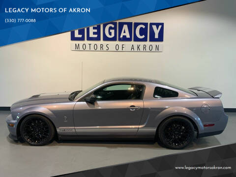 2007 Ford Shelby GT500 for sale at LEGACY MOTORS OF AKRON in Akron OH
