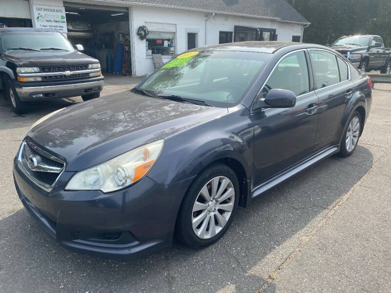 2010 Subaru Legacy for sale at East Windsor Auto in East Windsor CT