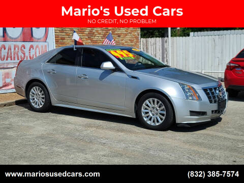 2012 Cadillac CTS for sale at Mario's Used Cars - South Houston Location in South Houston TX