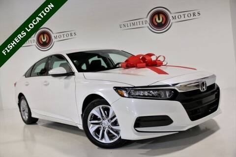 2020 Honda Accord for sale at Unlimited Motors in Fishers IN