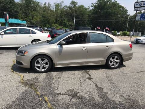 2014 Volkswagen Jetta for sale at M G Motors in Johnston RI
