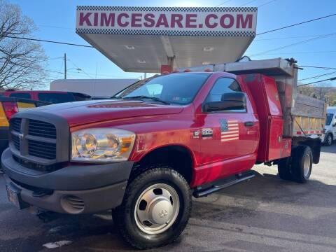 2008 Dodge Ram Chassis 3500 for sale at KIM CESARE AUTO SALES in Pen Argyl PA