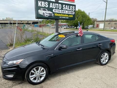 2013 Kia Optima for sale at KBS Auto Sales in Cincinnati OH