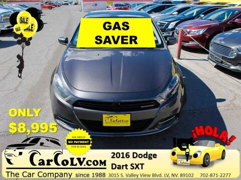 2016 Dodge Dart for sale at The Car Company in Las Vegas NV